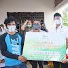 Danrem 141/Tp Bersama Bupati Sinjai Serahkan Bantuan Rumah Layak Huni Dari Yayasan Muslim Asia AMCF Didampingi Dandim 1424/Sinjai