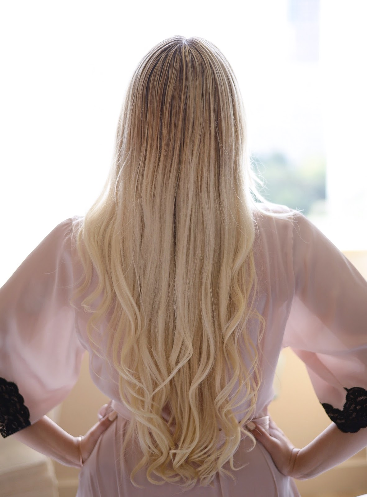 long natural hair tips