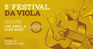 Prefeitura de Cajati abre inscrições para o V Festival da Viola