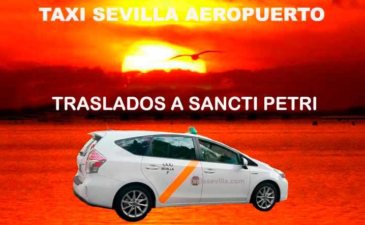 traslados taxi sevilla sancti petri