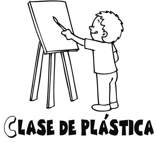 Caratula de artes plasticas para pintar - Imagui