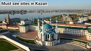 Must see sites in kazan city