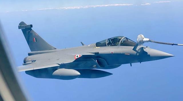 IAF's Rafale flying