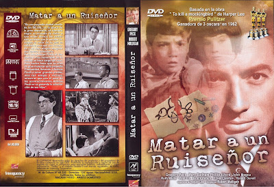 Carátula dvd: Matar a un ruiseñor (1962) To Kill a Mockingbird