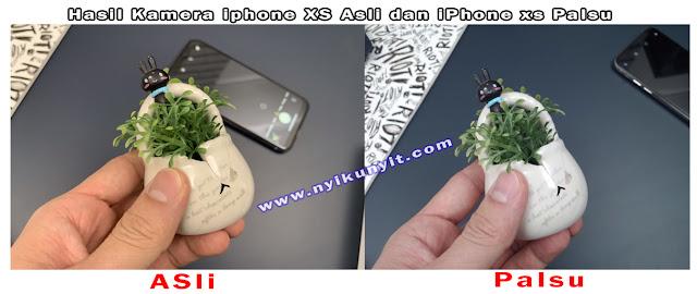 Perbedaan antara iphone xs asli dan iphone xs palsu