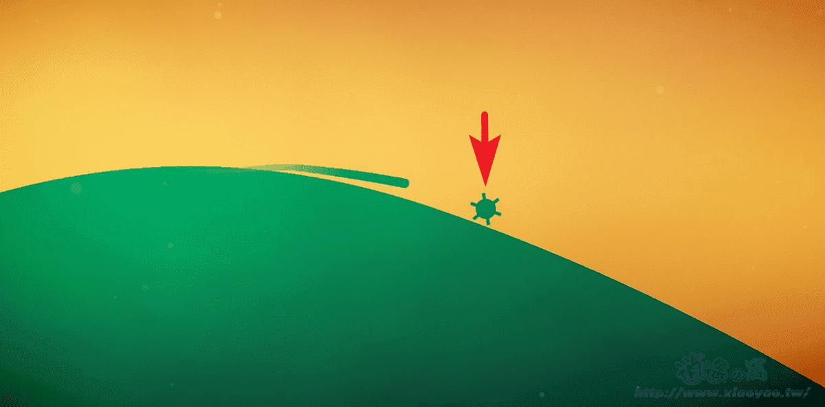 FLO Game 沿地平線加速前進閃-反應遊戲