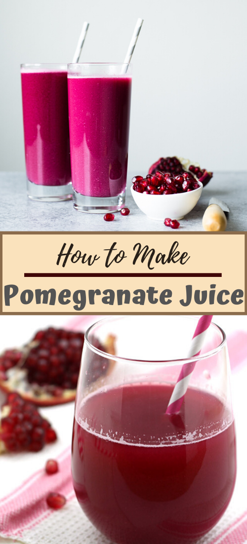 How to Make Pomegranate Juice  #healthydrink #easyrecipe #cocktail #smoothie