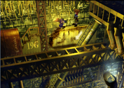 ultra-rom final fantasy vii - Gameplay on PSX1.13 - 04