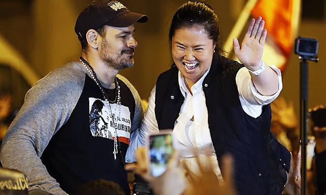 Keiko Fujimori sale libre