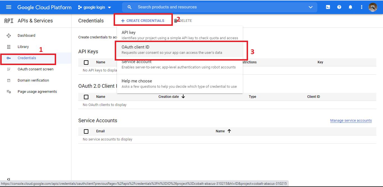 Membuat fitur login google di laravel