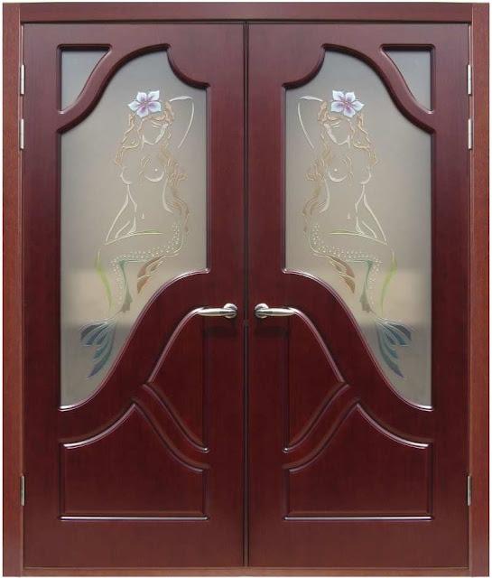 cửa gỗ lim lào -mẫu 6