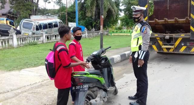 Kasat Lantas Polres Aceh Timur: Hari Kedua Operasi Zebra Seulawah 2020, Pelanggar Masih Didominasi Oleh Kendaraan Roda Dua