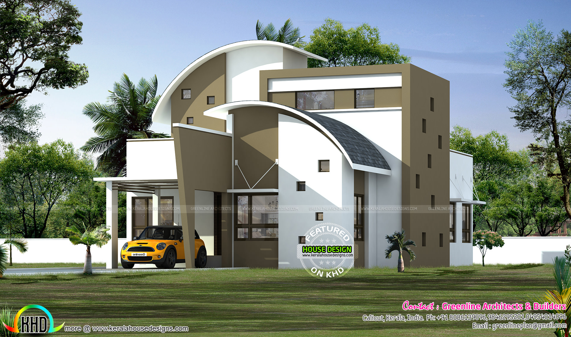 Superb single floor house design kerala home design and for Single floor modern house