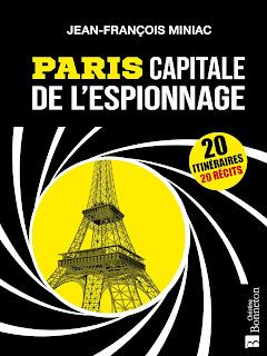 Paris Capitale de l'espionnage chez Christine Bonneton