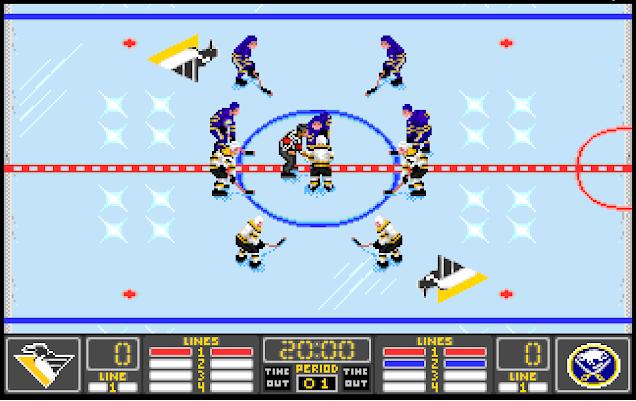 NHL 94 Retro Fashion