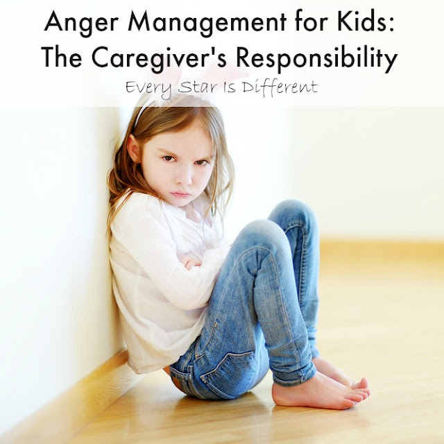Anger Management for Kids: The Caregiver's Respnsibility