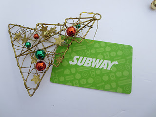 $25 Subway GiftCard #giveaway