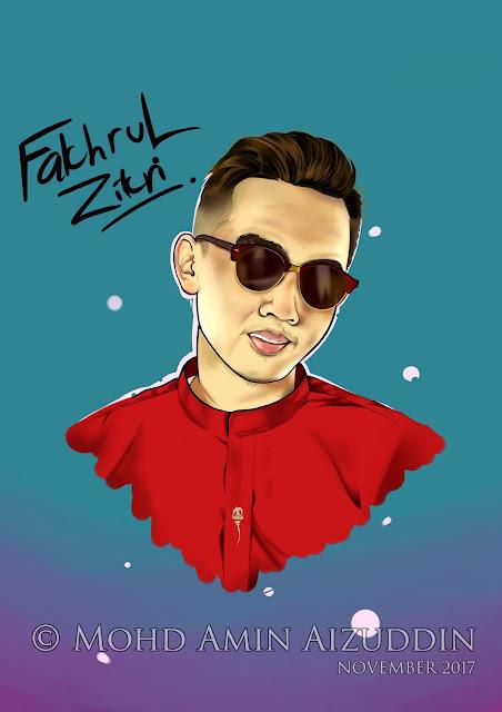 Fakhrul Zahari Digital Potrait