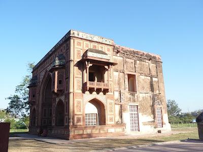 Kanch Mahal near Akbar s Tomb at Sikandra near Agra in Uttar Pradesh