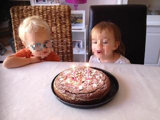 Goûter anniversaire chez nounou