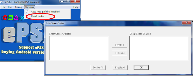 cheat codes epsxe 1.9.25, download cheat, cheat epsxe