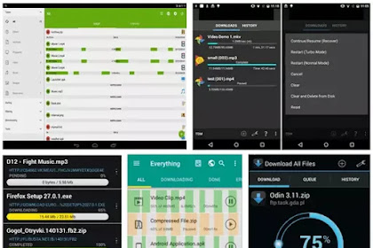 5 Application Download Manager It Download Super Fast Files on Smartphones