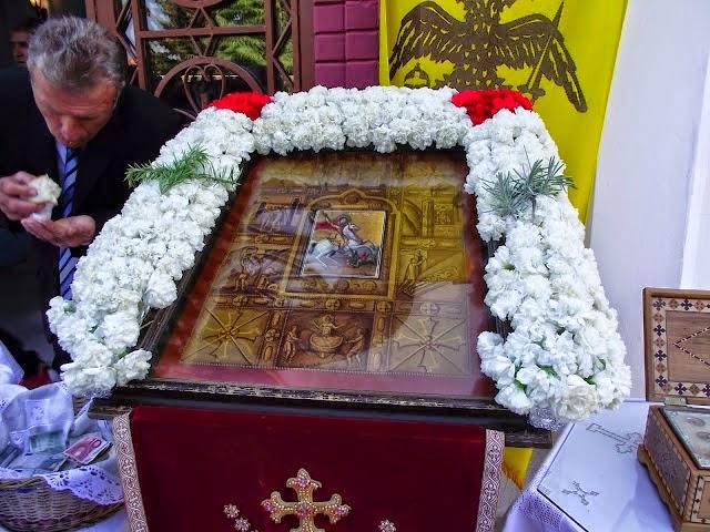 Πανηγυρίζει η Ιερά Μονή Αγίου Γεωργίου Περιστερεώτα, όπως παλιά στον Πόντο...