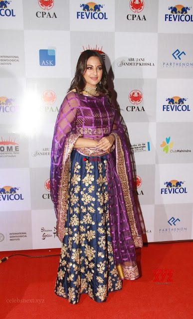 Sonakshi Sinha in Ghagra Choli at Mumbai Caring with Style~  Exclusive Galleries 001.jpg