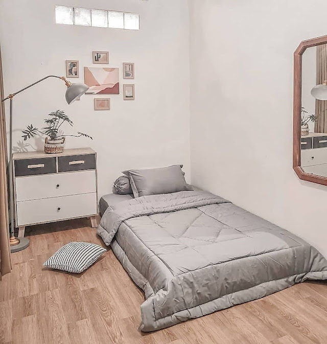 Dekorasi Kamar Tidur Remaja Minimalis Sederhana