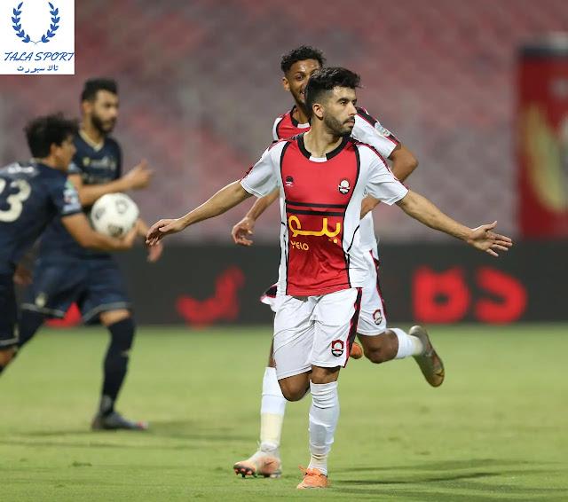 فوز الرائد على الأهلي في الجولة 25 من الدوري السعودي للمحترفين 2021