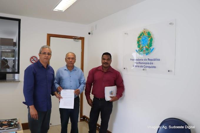 CONQUISTA (VÍDEO)   Vereadores protocolam relatório da CPI dos combustíveis nos MPs, Ibametro e Procon