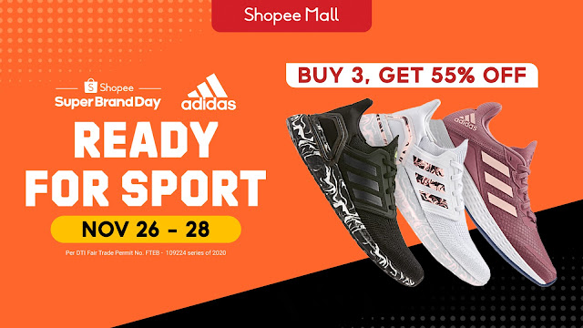 Adidas Launches First Regional Shopee Super Brand Day in the  Philippines
