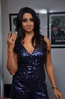Sanjana looks happy in sparkling short Deep neck Purple Gown ~  Exclusive 39.JPG