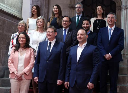 Puig destaca que el segundo Gobierno paritario de la Comunitat asume la 'ambición colectiva' de acabar con la violencia machista