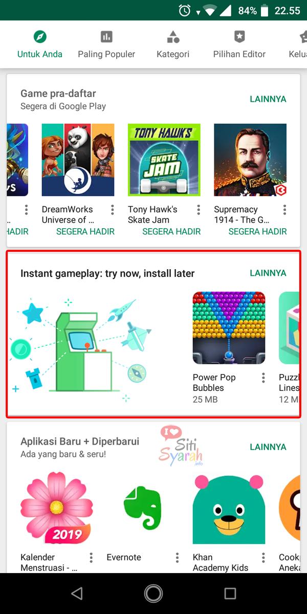 main game android tanpa instal terlebih dahulu