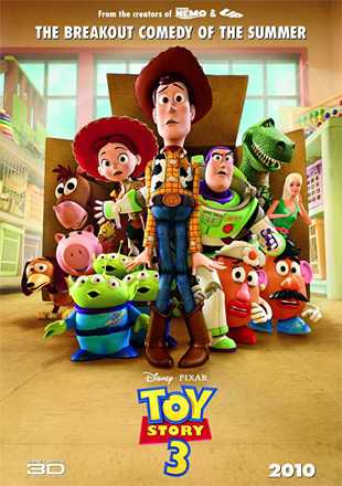 Toy Story 3 2010 BRRip 720p Dual Audio In Hindi English