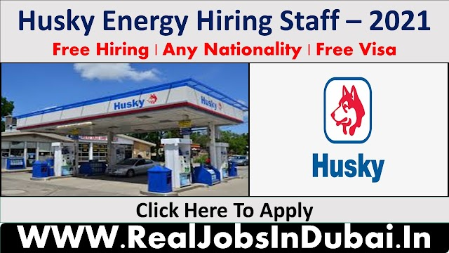 Husky Energy Hiring Staff In Canada  2021