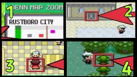 how to cut down trees in pokemon emerald