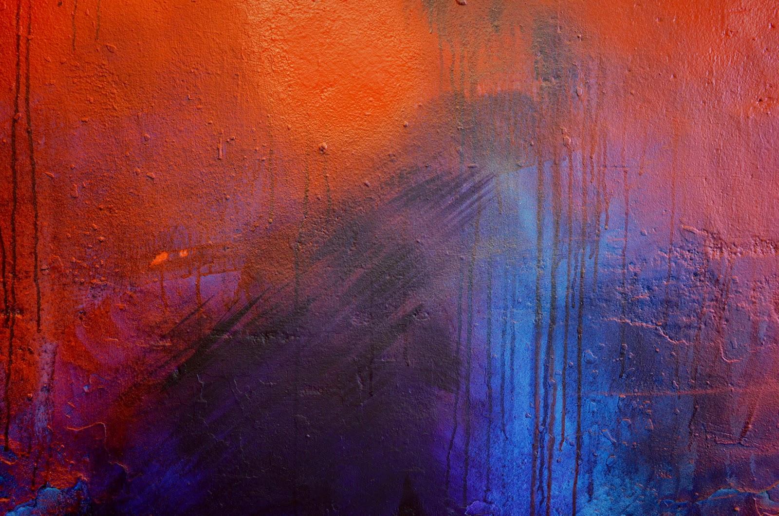 peinture acrylique sur mur jbb peintre abstrait