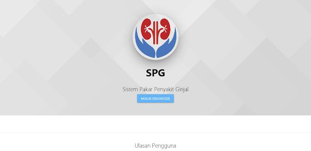 Sistem Pakar Penyakit Ginjal (SPG)