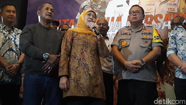 Rajut Pebedaan dalam Persatuan, Khofifah Gagas Asrama Mahasiswa Nusantara