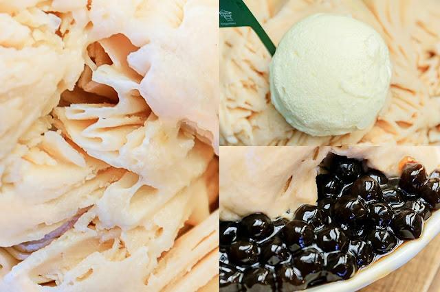 collage1 - 熱血採訪│豆花控必吃!獨家厚豆花口感紮實有厚度,還有超大份量雪花冰,小鳥胃可不要輕易嚐試~
