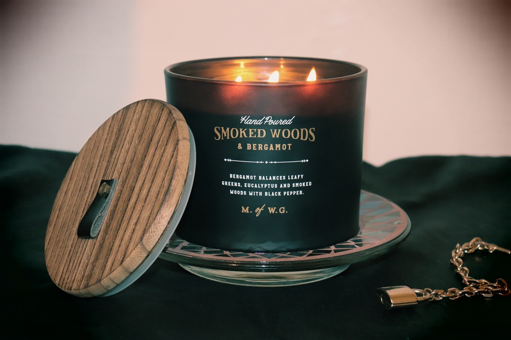 Makers of Wax Goods Smoked Woods & Bergamot Candle Review - TK Maxx UK Beauty Blogger The Burn Out Brand Three Wick Californian brand hand poured
