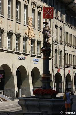 La fontana del Tiratore di Berna