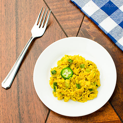Curried Oatmeal Risotto