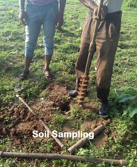 soil testing for construction in hindi