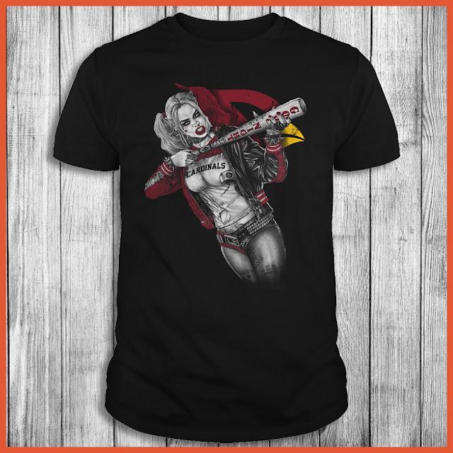 Arizona Cardinals Harley Quinn T-Shirt