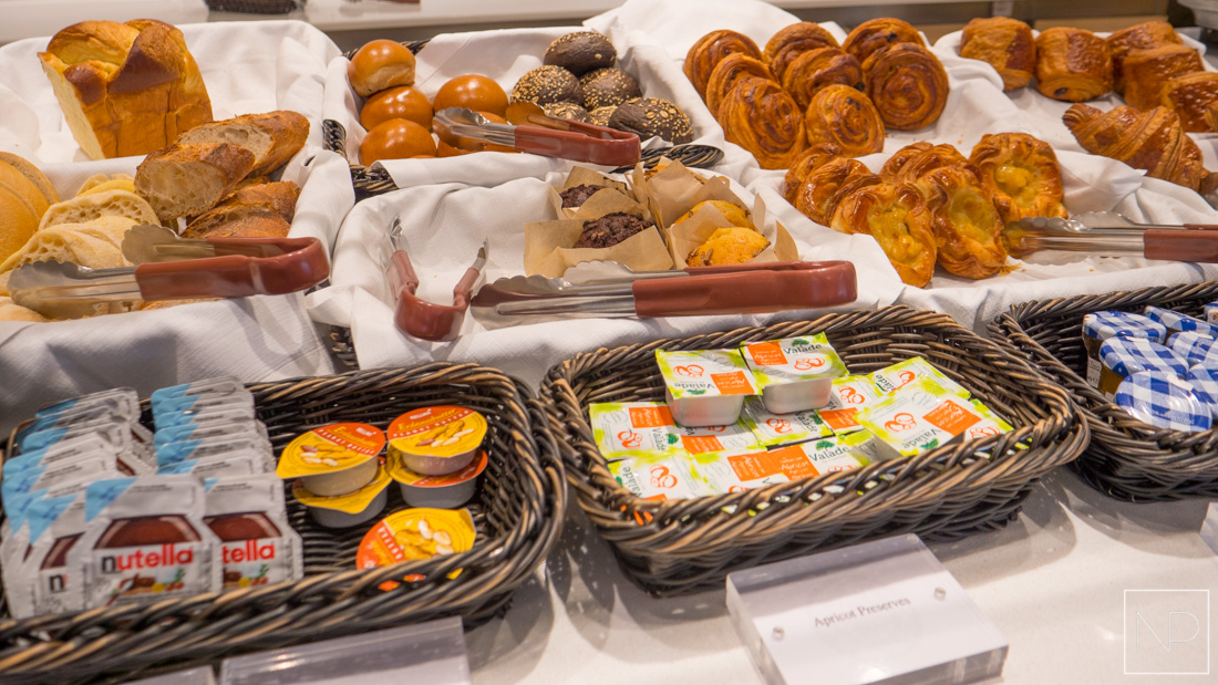Breakfast in The World Café on Viking Cruises