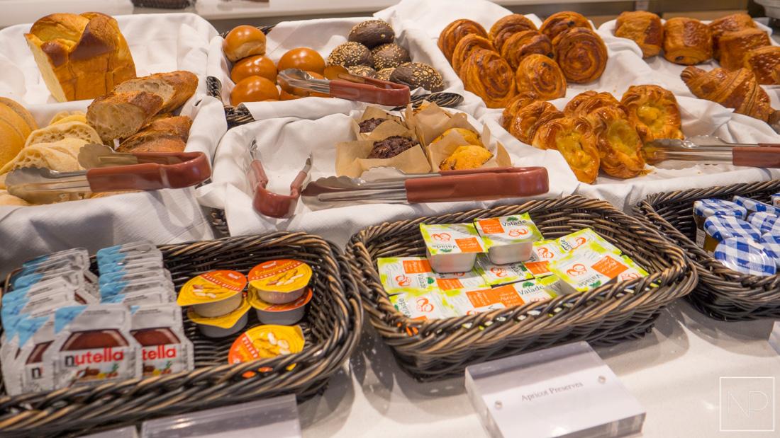 Breakfast in The World Café on Viking Cruises