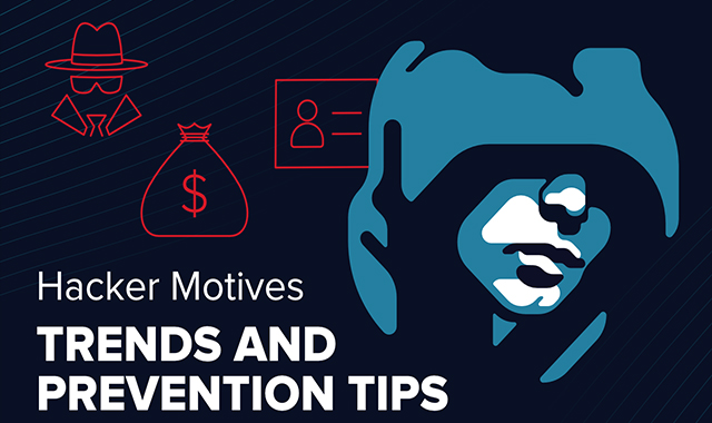 Motives for hackers: Red flags and prevention #infographic